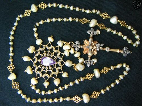 18th CENTURY BAROQUE ROSARY