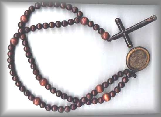 cord rosary bracelet instructions