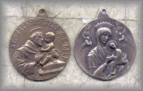 Anthony/Our Lady Medal