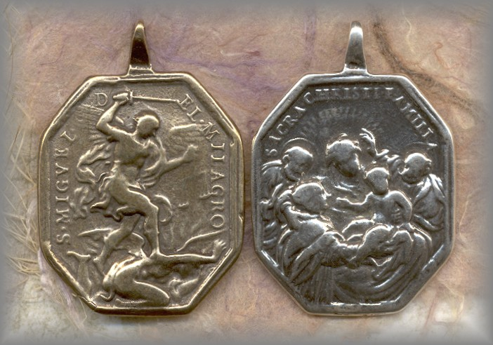 michael medal st Vintage