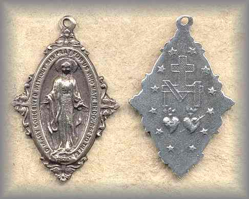 MIRACULOUS MEDAL: Sodality (1930S)