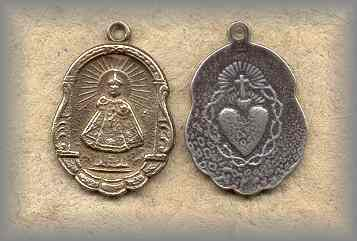 MEDAL: Infant of Prague (1920)