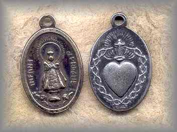 MEDAL: Infant of Prague (1930)