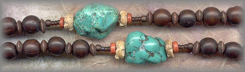 RSDA.2784 - ('Way of the Pilgrim') - Turquoise / Cherrywood