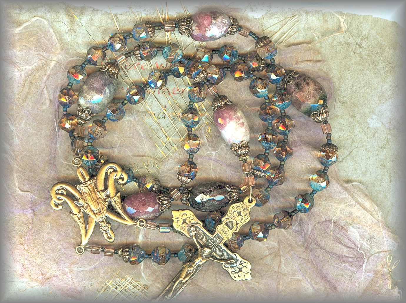 ROSARY: full image of the Sea and Earth rosary