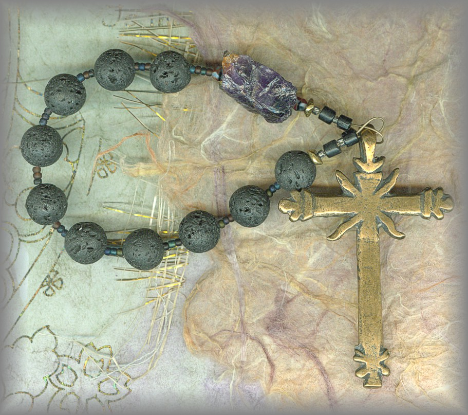 ROSARY AND CHAPLET: all in one loop.