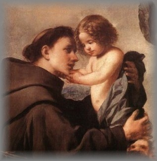 ST ANTHONY WITH CHILD JESUS - click for more information
