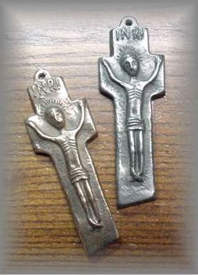 MINIATURE PENAL CROSS - click for more information