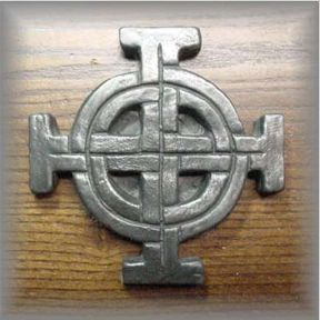 ROUND CELTIC CROSS - click for more information