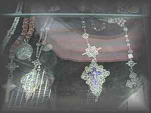 ANTIQUES - collection of filligree rosaries