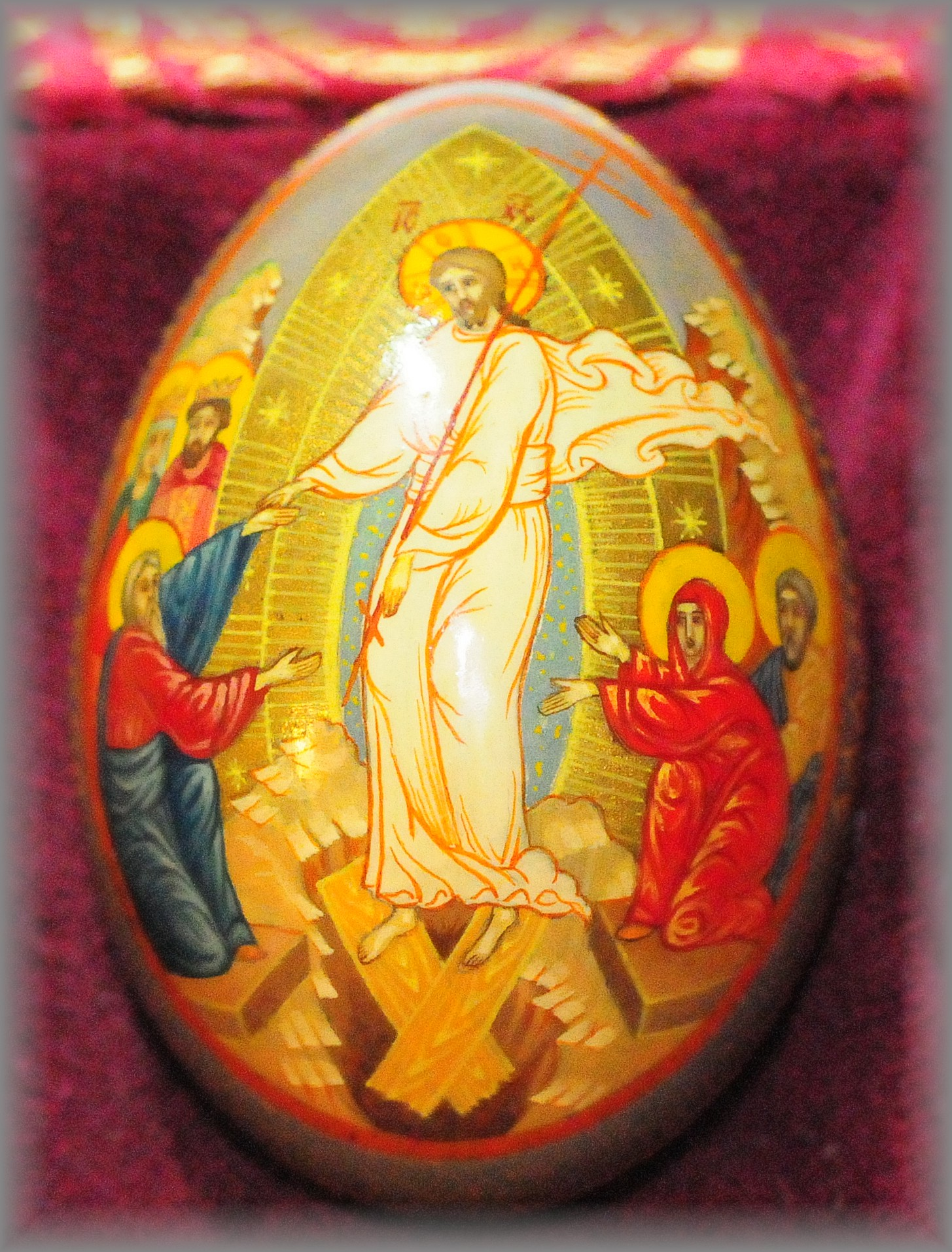 Rosary workshop rosary museum crucifixes early latin - Russian easter eggs history ...